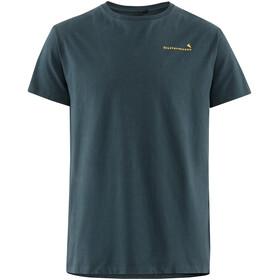 Klättermusen Runa Roadmap Koszulka z krótkim rękawem Mężczyźni, midnight blue